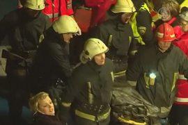 Обрушение ТЦ в Риге: жертв уже 16