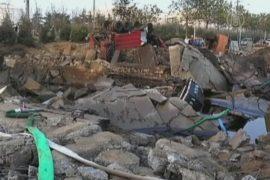 Взрыв нефтепровода в Шаньдун: 22 погибших