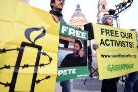 Под залог выпущен 29-й активист «Гринпис»