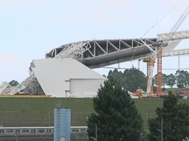 ЧП на стадионе не повредило несущую конструкцию
