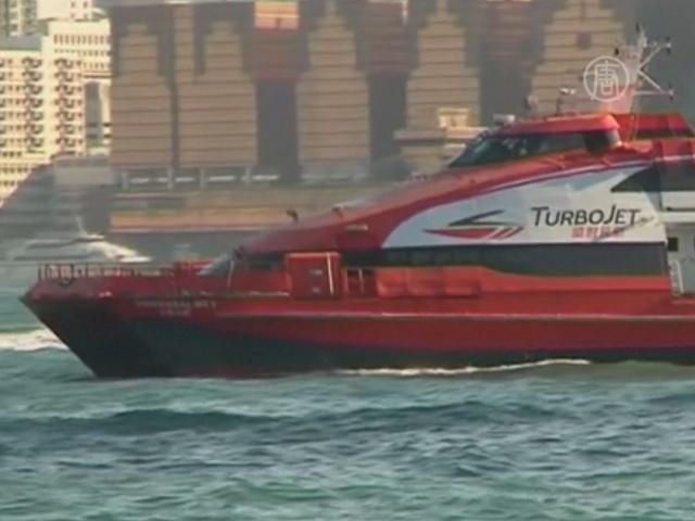 В Гонконге потерпел крушение паром