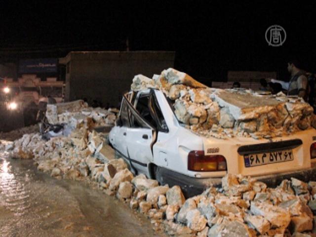 В районе иранской АЭС снова землетрясение