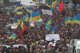 В центре Киева – миллион протестующих