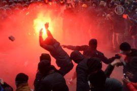 Протесты в Киеве: десятки пострадавших