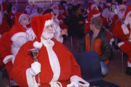 Германия: слёт Сант и праздничная ярмарка