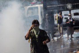 Протестующие в Бангкоке штурмуют здания властей