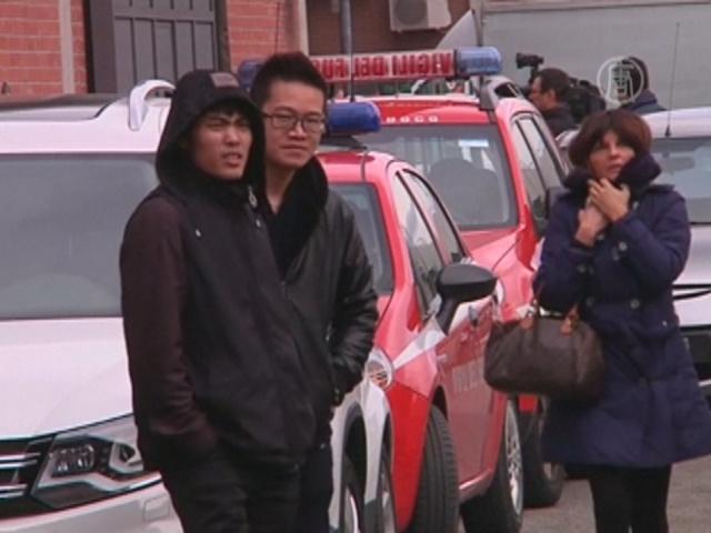 Пожар на китайской фабрике в Италии: 7 погибших