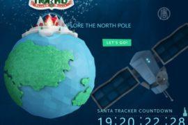 Путь Санта-Клауса отследили радарами