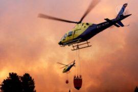 Чили охватили лесные пожары