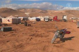 Сирийские беженцы в Ливане не готовы к зиме