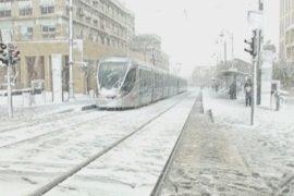 Из-за снегопада Иерусалим превратился «в Сибирь»