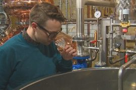 Лондон начал официально производить виски