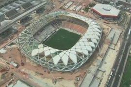 Суд остановил строительство стадиона для ЧМ-2014