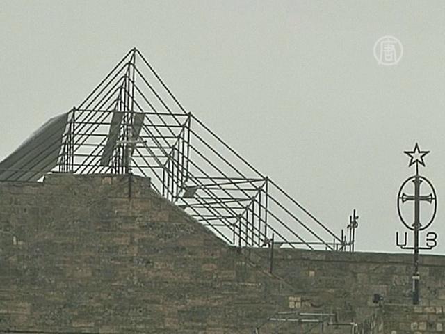 Место рождения Христа реставрируют