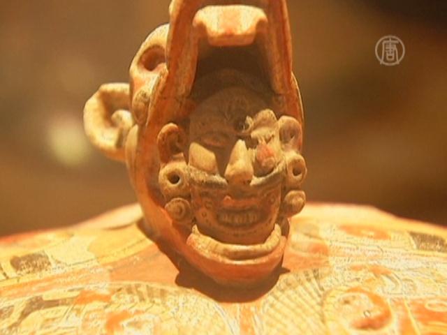 Уникальные артефакты майя показывают в Мехико