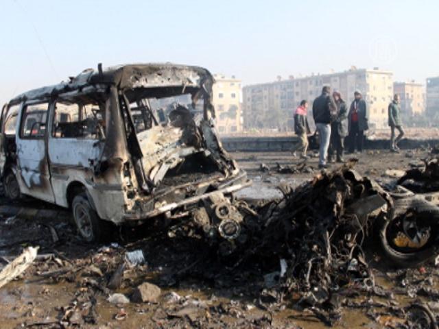 Атака с воздуха в Сирии: десятки жертв