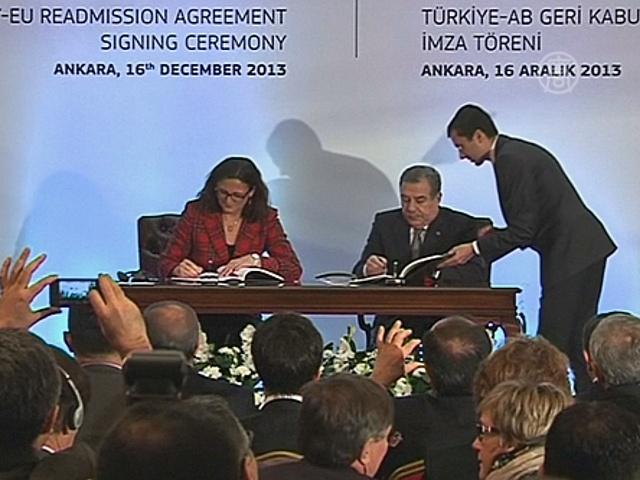 ЕС сможет высылать мигрантов обратно в Турцию