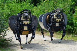 Google купил компанию по созданию военных роботов
