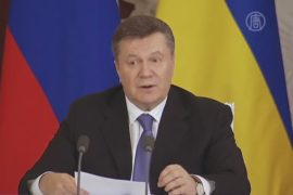 Народное вече: что пообещал Янукович России?