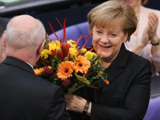 Ангела Меркель избрана на третий срок