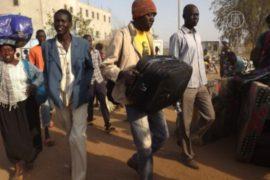 Из Южного Судана эвакуируют иностранцев