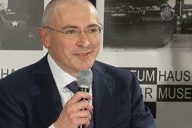 Первое интервью Ходорковского в Берлине