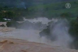 40 тысяч бежали от наводнения в Бразилии