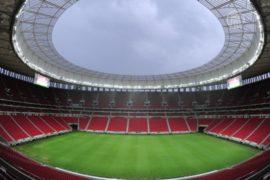 Самый дорогой стадион Бразилии протекает