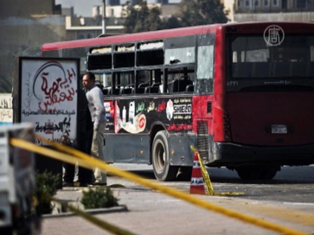 В Каире взорван автобус
