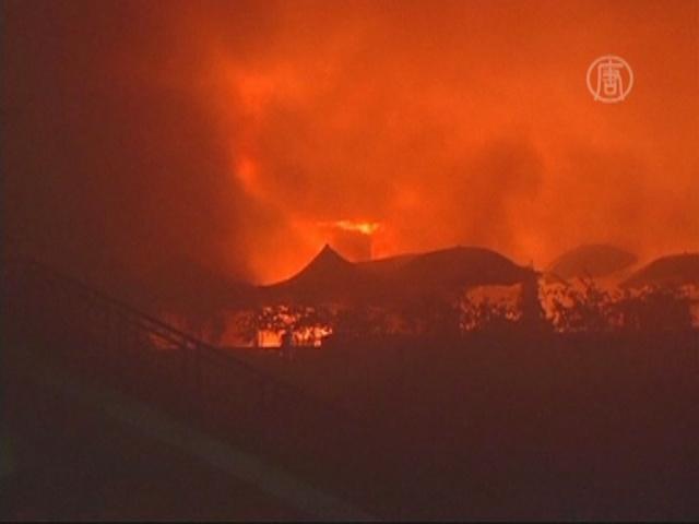 В Китае произошел пожар в ТЦ, 4 погибших