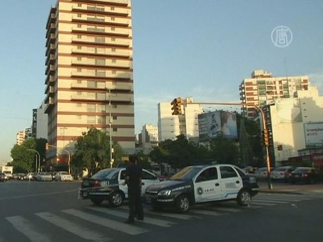 В Буэнос-Айресе в жару отключили свет и воду
