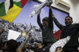 Израиль освободил ещё одну партию палестинцев