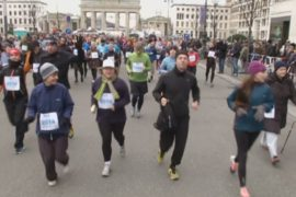 4000 немцев пробежались после Нового года