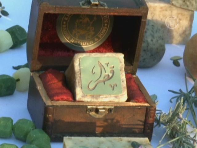 В Ливане делают мыло с золотом и бриллиантами