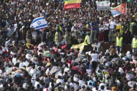 В Израиле протестуют нелегальные мигранты