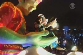 Испания: красочный парад на день трёх волхвов