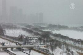 На США и Канаду обрушилась аномальная зима