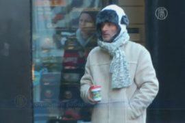 Нью-Йоркских бездомных уговаривают идти в приюты