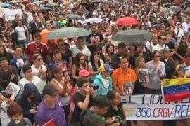 Венесуэльцы протестуют после убийства актрисы