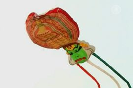 Фестиваль воздушных змеев проходит в Индии