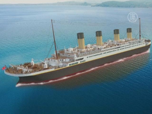 Копия «Титаника» появится в Китае