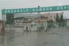 Турция закрыла границу у сирийского Тель-Абьяд