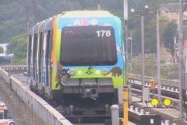 В метро Тайваня появился «панда-поезд»