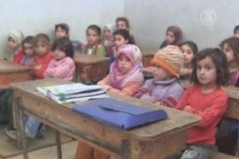 Школу для сирийских детей открыли волонтёры
