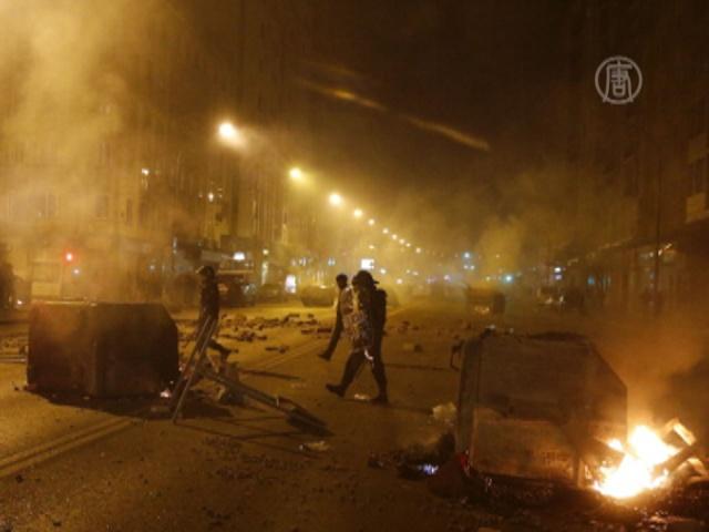 В Мадриде мирный протест перерос в беспорядки