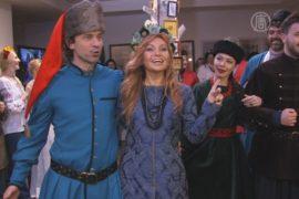 Казацкую одежду примеряли в Киеве