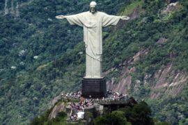 Статуе Христа в Рио восстановят отбитые пальцы