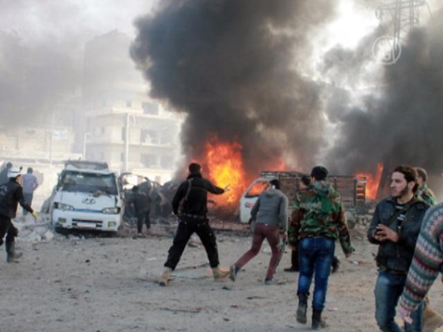 В Сирии продолжаются бои