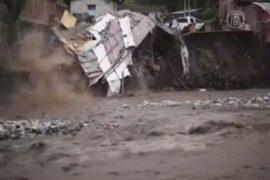 Наводнение в Перу затопило дома