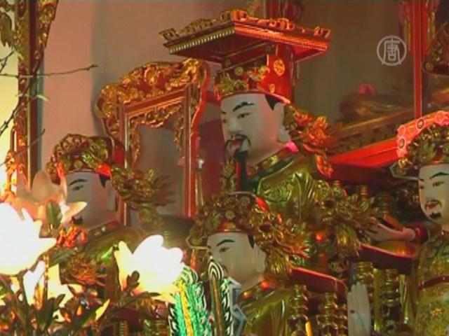Вьетнам готовится к встрече лунного Нового года